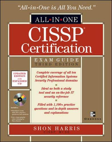 9780072257120: CISSP All-in-One Exam Guide, Third Edition (All-In-One Certification)