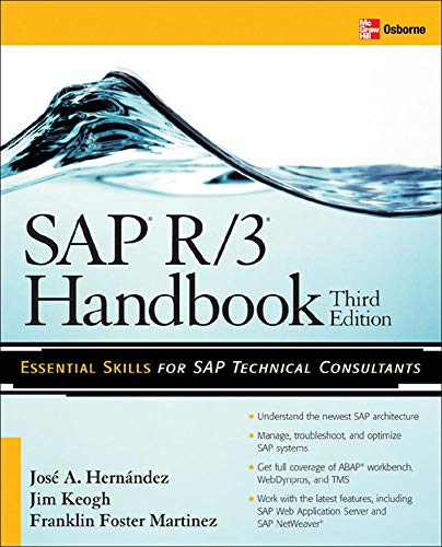 SAP R/3 Handbook, Third Edition: Jose Antonio Hernandez,