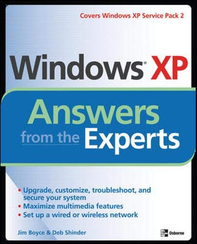 9780072257670: Windows XP Answers from the Experts