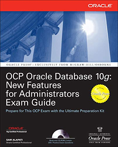 9780072258622: OCP Oracle Database 10g: New Features for Administrators Exam Guide (Oracle Press)