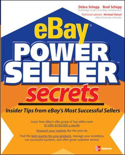 9780072258691: eBay Powerseller Secrets (One-Off)