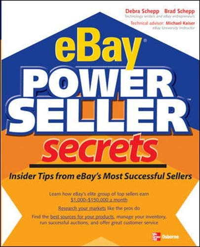 9780072258691: eBay PowerSeller Secrets: Insider Tips from eBay's Most Successful Sellers