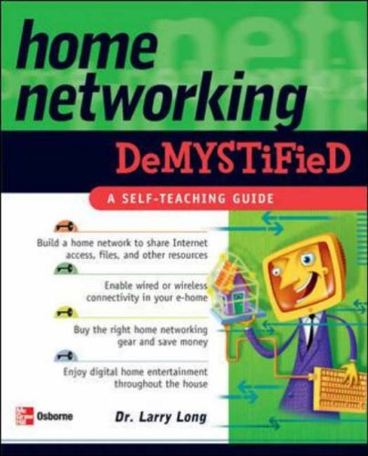9780072258783: Home Networking Demystified
