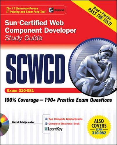 9780072258813: Sun Certified Web Component Developer Study Guide (Exams 310-081 & 310-082) (Oracle Press)