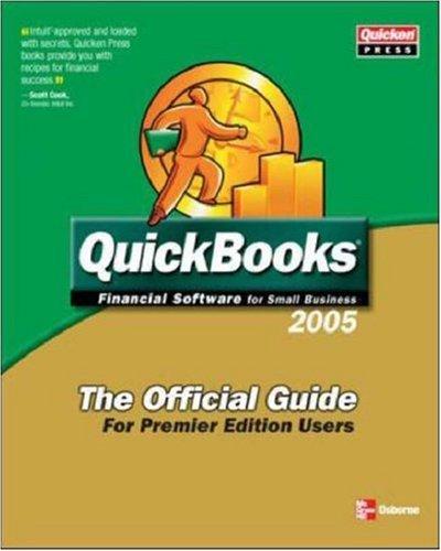 9780072259247: QuickBooks 2005 Custom Edition, Premier