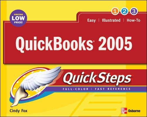 9780072259513: QuickBooks 2005 QuickSteps