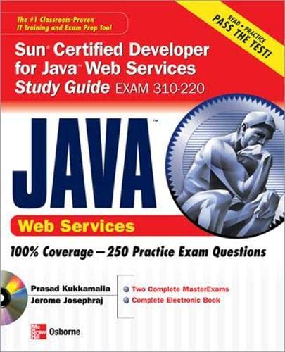 9780072259520: Sun Certified Developer for Java Web Services Study Guide (Exam 310-220) (Certification Press)