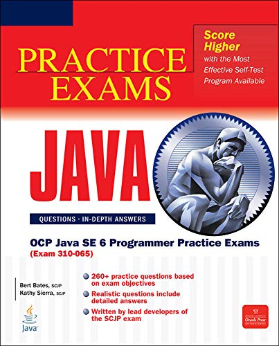 9780072260885: OCP Java SE 6 Programmer Practice Exams (Exam 310-065): Exam 310-065 (Certification Press)