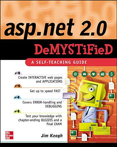 9780072261417: ASP.NET 2.0 Demystified