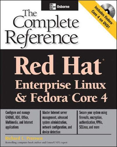 9780072261547: Red Hat® Enterprise Linux & Fedora(TM) Core 4: The Complete Reference (Osborne Complete Reference Series)