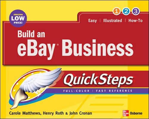9780072261615: Build an eBay Business QuickSteps