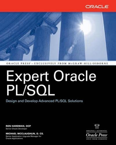 9780072261943: Expert Oracle PL/SQL (Oracle Press)