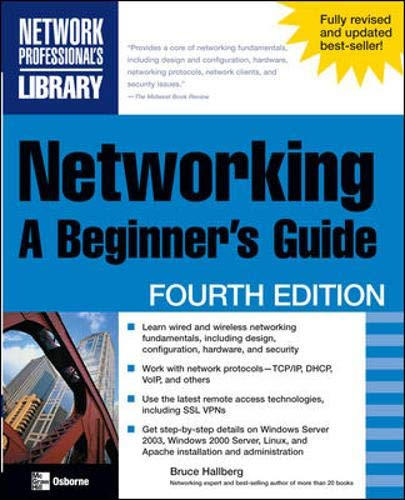 9780072262124: Networking: A Beginner's Guide, Fourth Edition