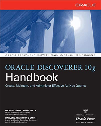 9780072262148: Oracle Discoverer 10g Handbook (Oracle (McGraw-Hill))