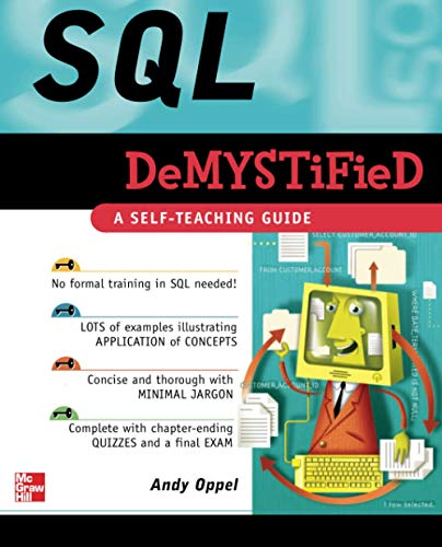 9780072262247: SQL Demystified