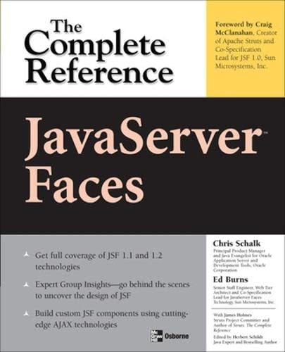 9780072262407: JavaServer Faces: The Complete Reference