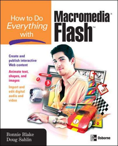 9780072262452: How to Do Everything with Macromedia Flash
