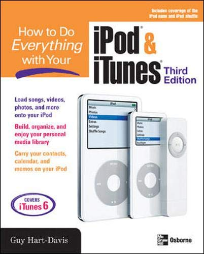 9780072262476: How to Do Everything with Your iPod & iTunes, Third Edition