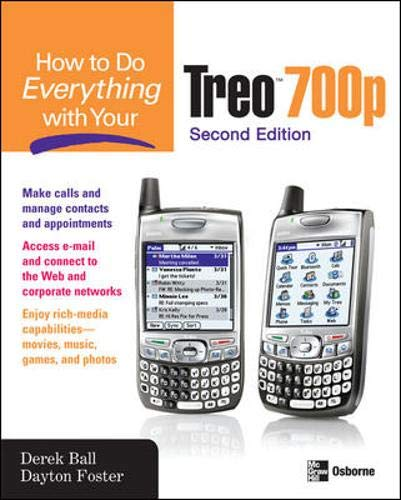 9780072262490: How to Do Everything With Your Treo 700p, Second Edition