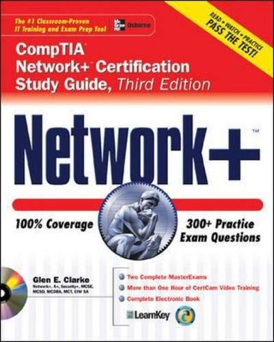9780072262681: Network+ Certification Study Guide, Third Edition (Certification Study Guides)