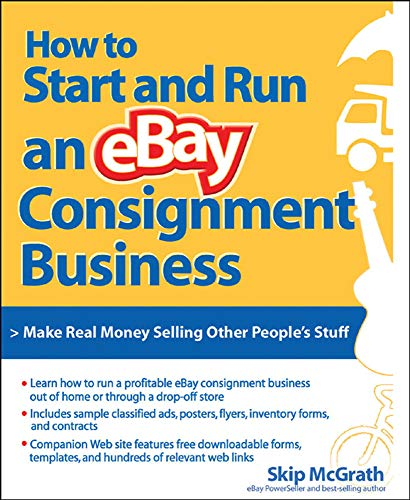 9780072262773: How to Start and Run an eBay Consignment Business
