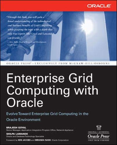 9780072262803: Enterprise Grid Computing with Oracle (Osborne Oracle Press Series)