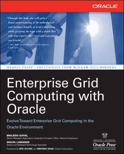 9780072262803: Enterprise Grid Computing with Oracle (Osborne ORACLE Press Series)