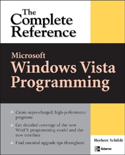 9780072262841: Microsoft Windows Vista Programming: The Complete Reference (Osborne Complete Reference)
