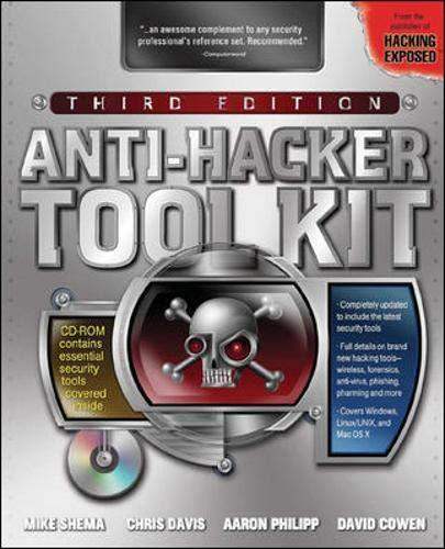 9780072262872: Anti-Hacker Tool Kit, Third Edition