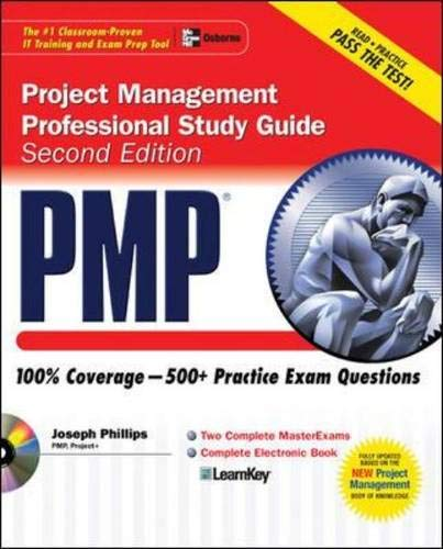 9780072262902: PMP Project Management Professional Study Guide, Second Edition