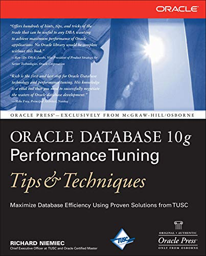 9780072263053: Oracle Database 10g Performance Tuning Tips & Techniques (Oracle Press)
