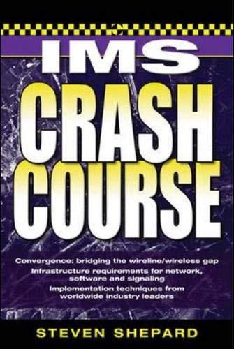 IMS Crash Course: Steven Shepard