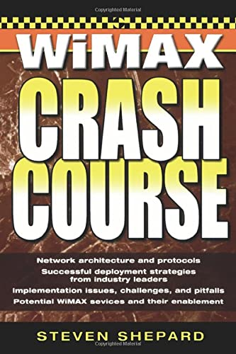 9780072263077: WiMAX Crash Course