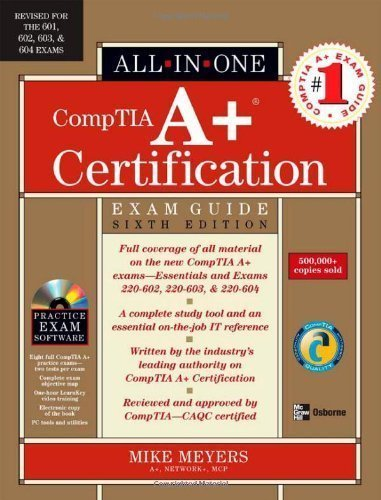 9780072263121: All-In-One CompTIA A+ Certification (Exam Guide)