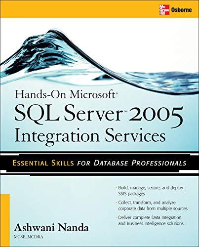 9780072263190: Hands-On Microsoft SQL Server™ 2005 Integration Services