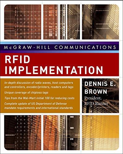 9780072263244: RFID Implementation