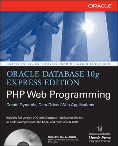 9780072263251: Oracle Database 10g Express Edition PHP Web Programming (Oracle Press)