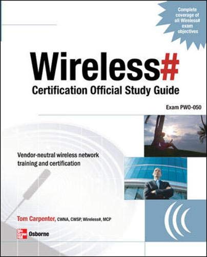 9780072263428: Wireless# Certification Official Study Guide (Exam PW0-050)