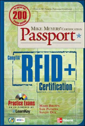 9780072263664: Mike Meyers' Comptia RFID+ Certification Passport