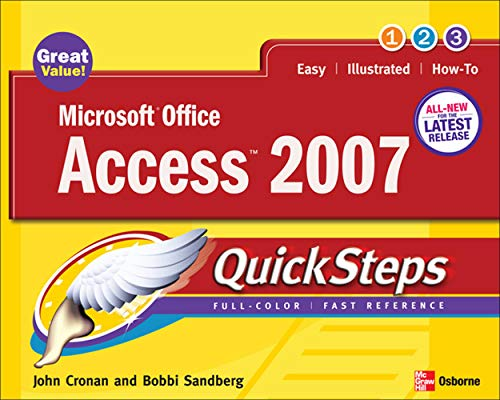 9780072263718: Microsoft Office Access 2007 QuickSteps