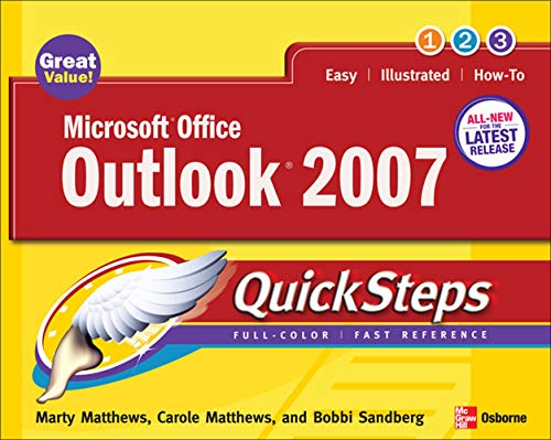 9780072263732: Microsoft Office Outlook 2007 QuickSteps