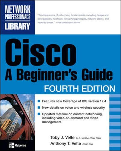 9780072263831: Cisco: A Beginner's Guide, Fourth Edition