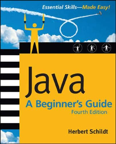9780072263848: Java: A Beginner's Guide, 4th Ed.