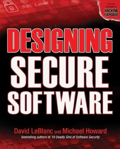 9780072263916: Designing Secure Software