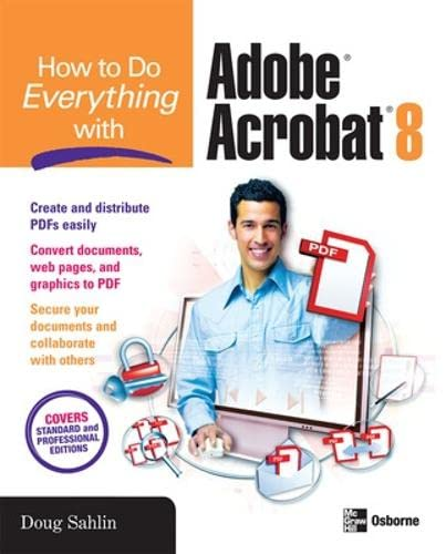 9780072263930: How to Do Everything with Adobe Acrobat 8