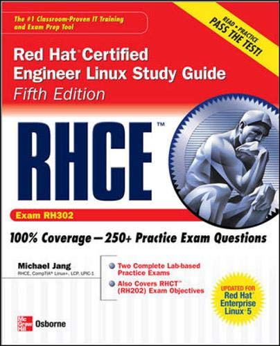 9780072264548: RHCE Red Hat Certified Engineer Linux Study Guide (Exam RH302) (Certification Press)