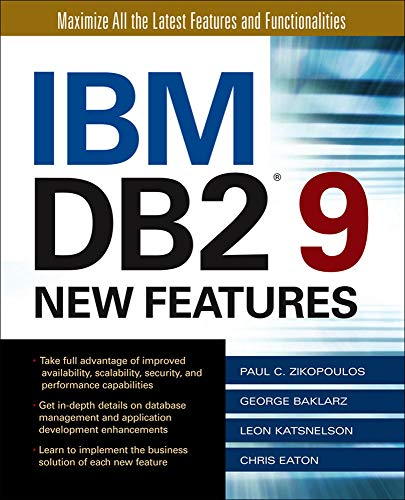 9780072264593: IBM DB2 9 New Features (Database & ERP - OMG)