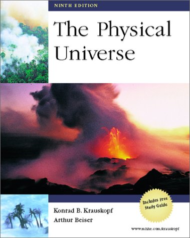 9780072281934: The Physical Universe with CD-ROM and Student Study Guide package