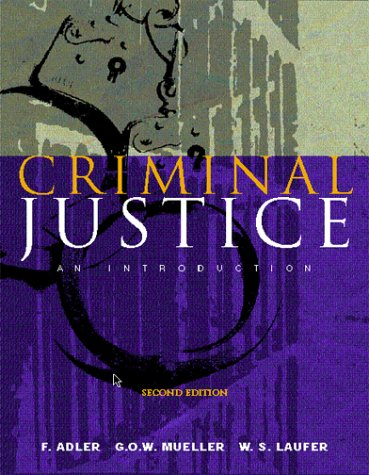 9780072282214: Criminal Justice: An Introduction