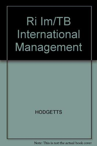 Ri Im/TB International Management: HODGETTS